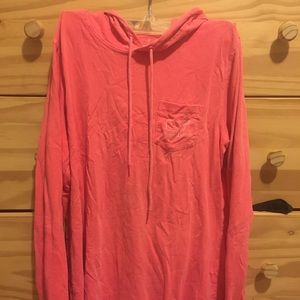Vineyard Vines long sleeve T-shirt with hood